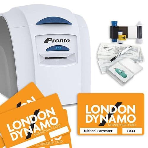 Membership Card Printing Bundle Ideal for Small Clubs - Print your own